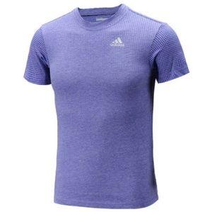 Adidas Men's Aeroknit Tee Shirt XL Purple